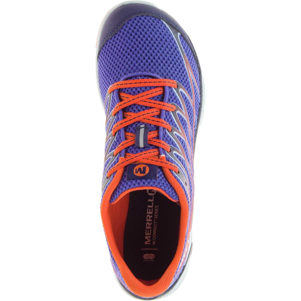 MERRELL Women's Bare Access Arc 4 Running Shoe, Violet Storm - VIOLET STORM