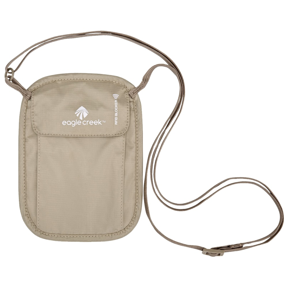 EAGLE CREEK RFID Blocker Neck Wallet - TAN