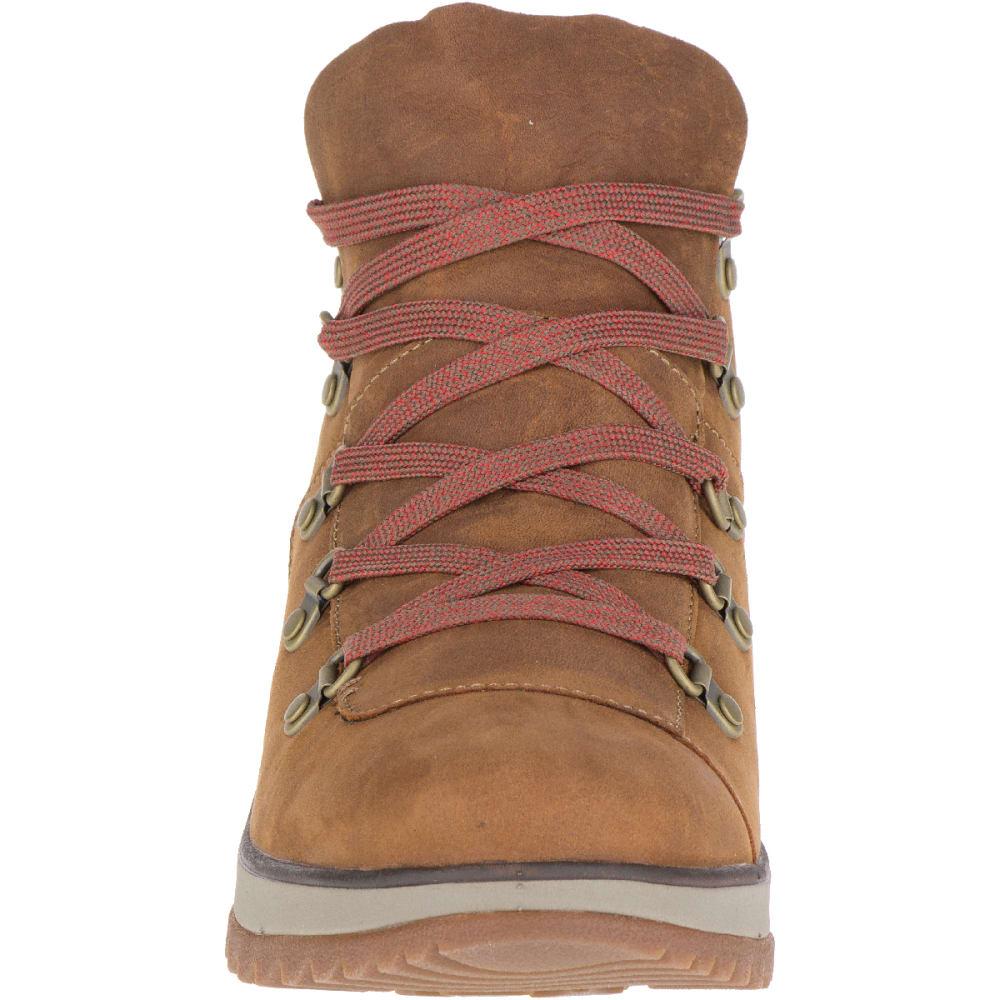 MERRELL Women's Eventyr Bluff Waterproof Winter Boots, Merrell Tan - MERRELL TAN
