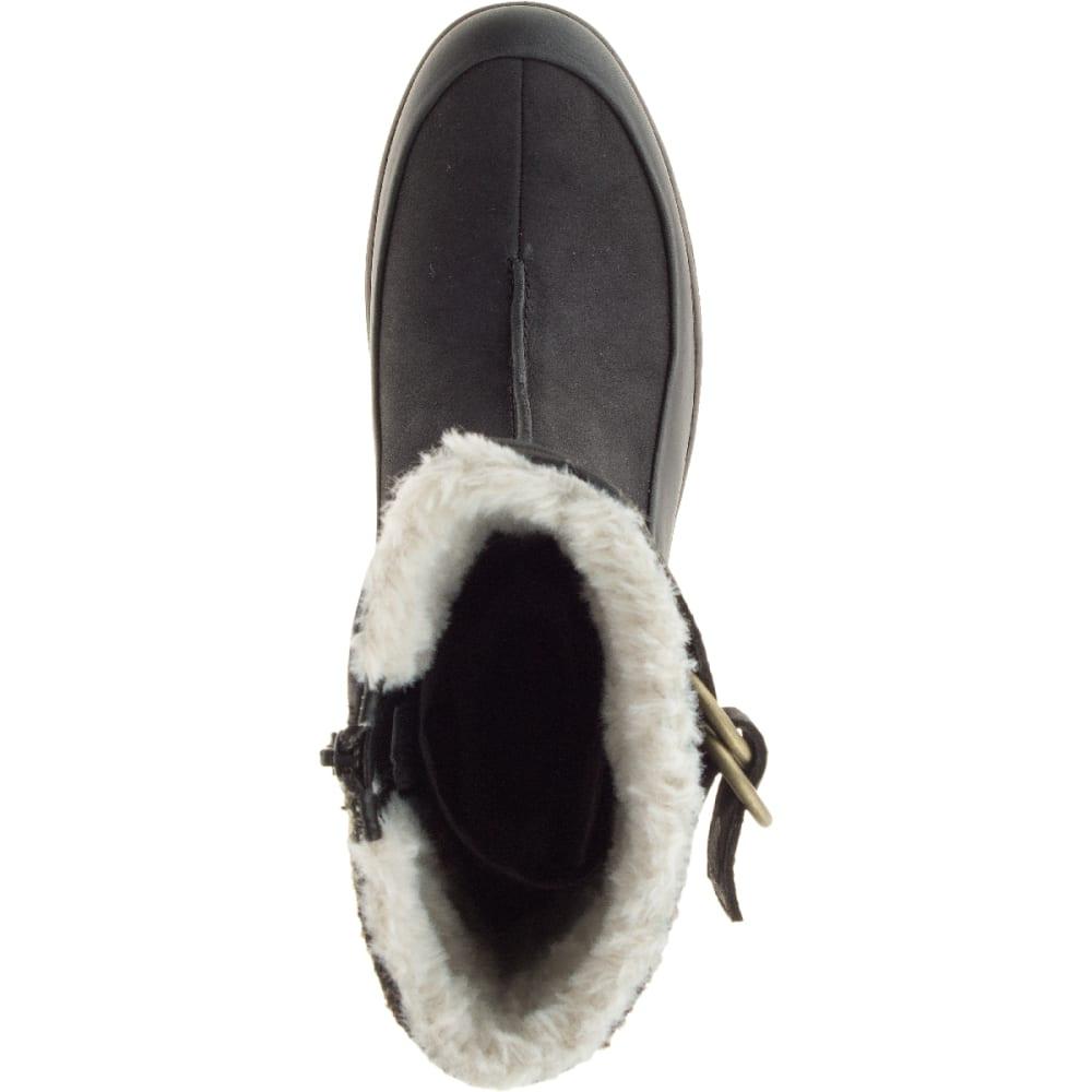 MERRELL Women's Eventyr Mid North Waterproof Winter Boot, Black - BLACK