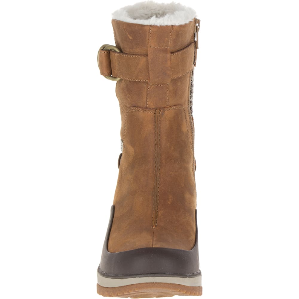 MERRELL Women's Eventyr Mid North Waterproof Winter Boot, Merrell Tan - MERRELL TAN