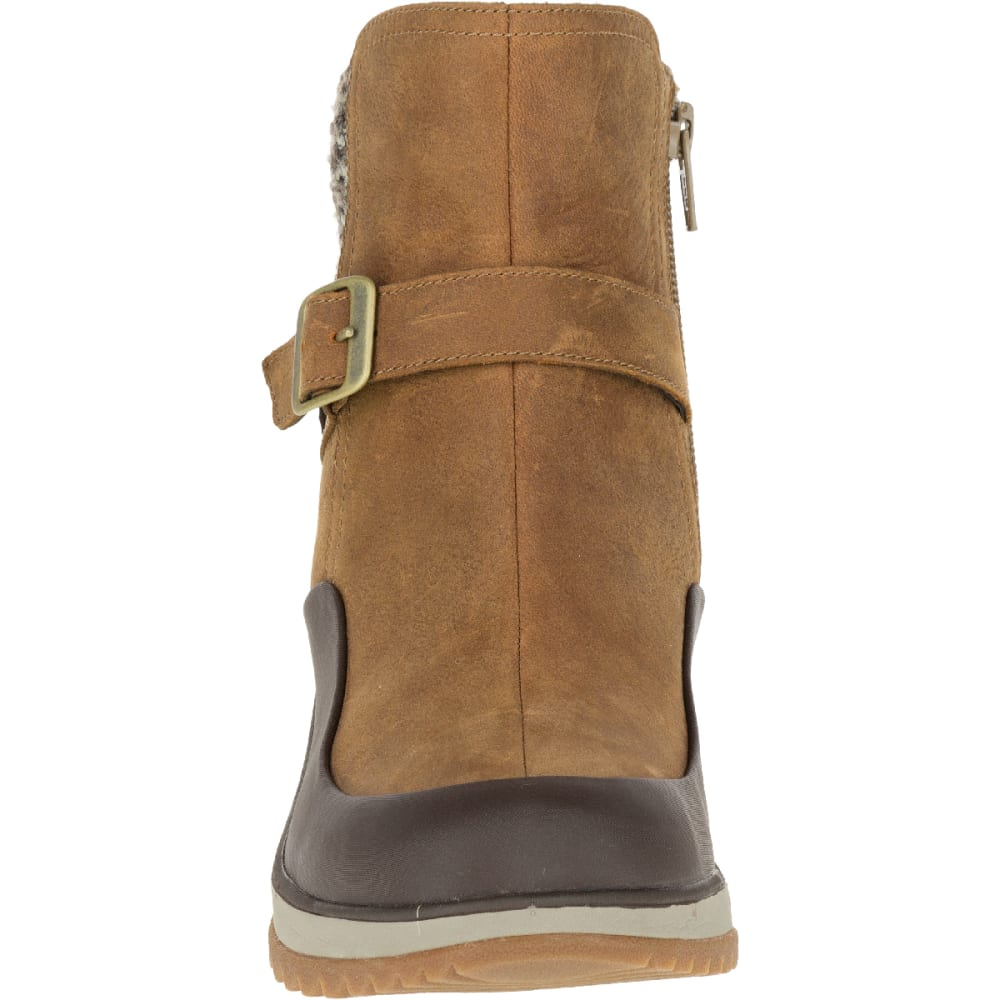 MERRELL Women's Eventyr Strap Waterproof Winter Boot, Merrell Tan - MERRELL TAN
