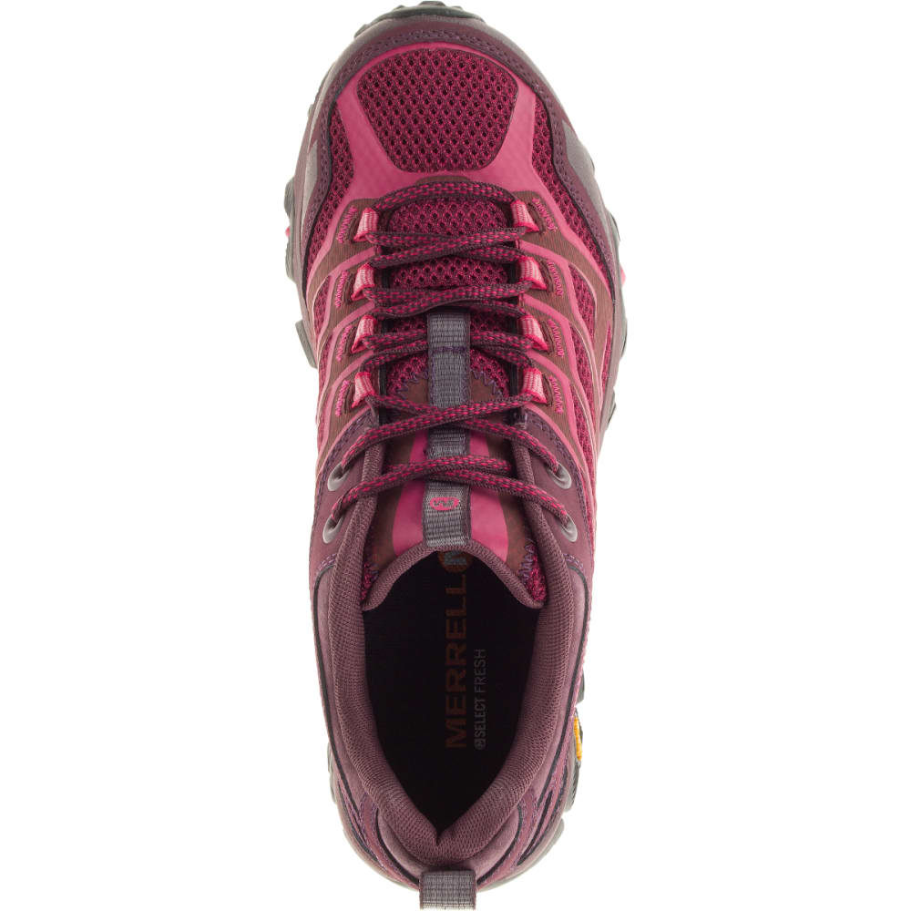 MERRELL Women's Moab FST Hiking Shoes, Beet Red - BEET RED