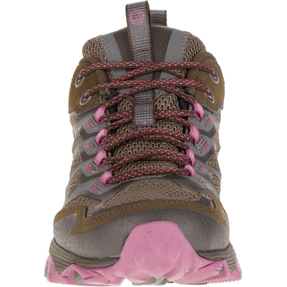 MERRELL Women's Moab FST Waterproof Shoe, Boulder - BOULDER