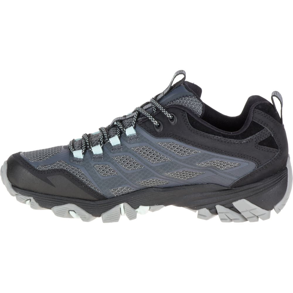 MERRELL Women's Moab FST Waterproof Shoe, Granite - GRANITE