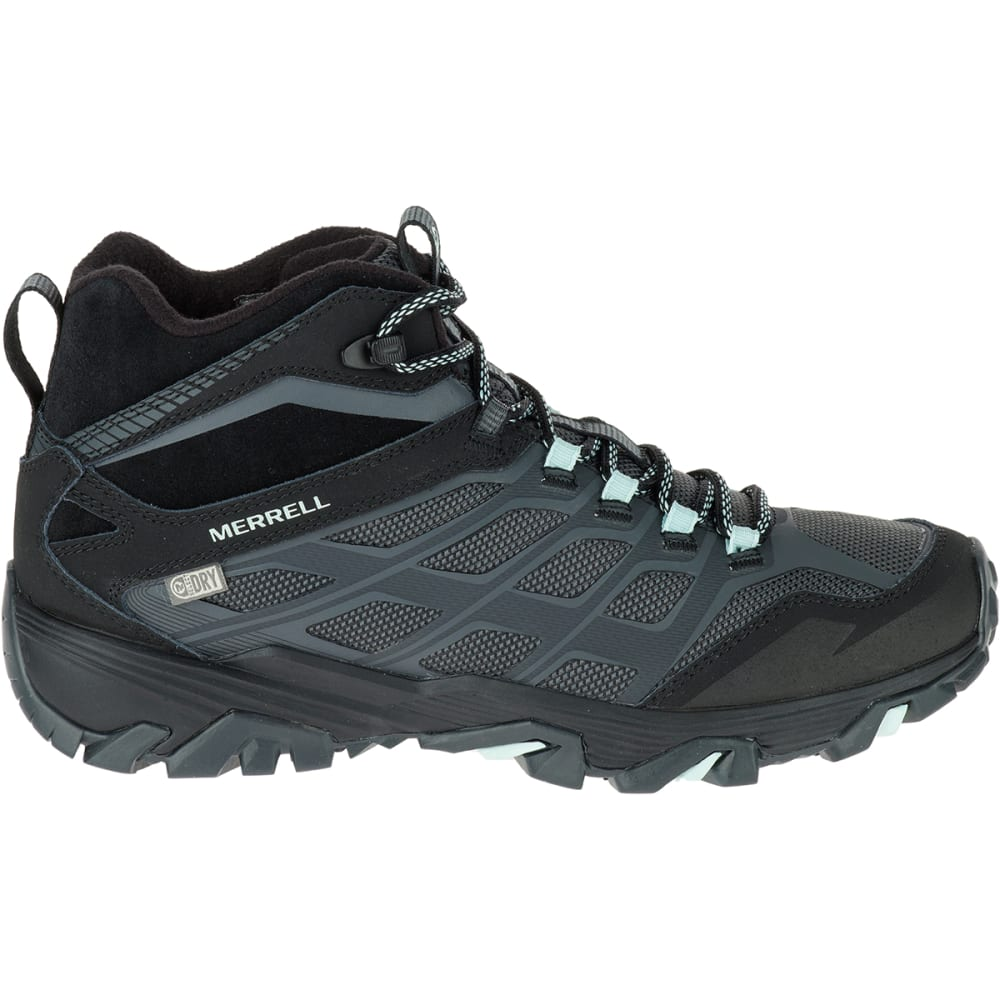b8deee0d22e MERRELL Women's Moab FST Ice+ Thermo Boots, Granite