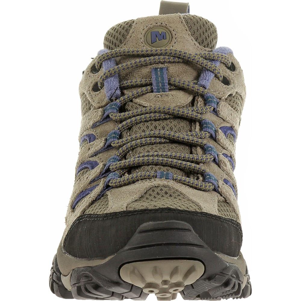 MERRELL Women's Moab Ventilator Shoe, Aluminum/Marlin, Wide - ALUMINUM/MARLIN