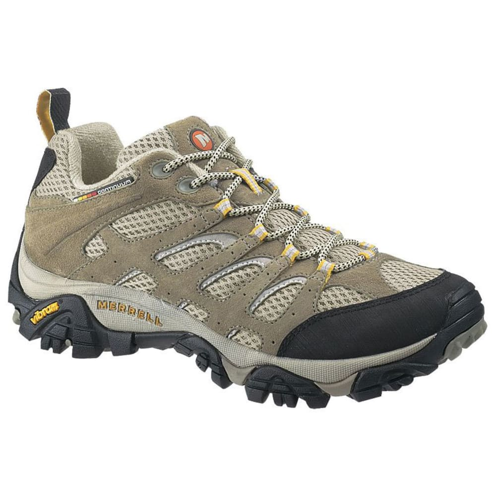 MERRELL Women's Moab Ventilator Hiking Shoe, Taupe, Wide - TAUPE