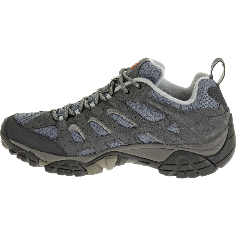 MERRELL Women's Moab Ventilator Shoe, Smoke, Wide - SMOKE