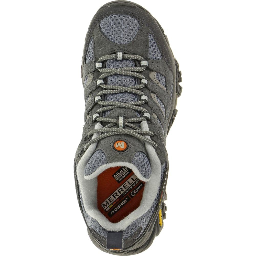 MERRELL Women's Moab Ventilator Shoe, Smoke, Wide - SMOKE