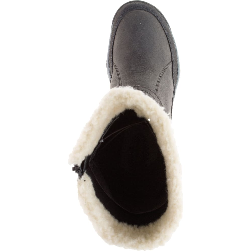 MERRELL Women's Murren Mid Waterproof Boots, Pewter - PEWTER