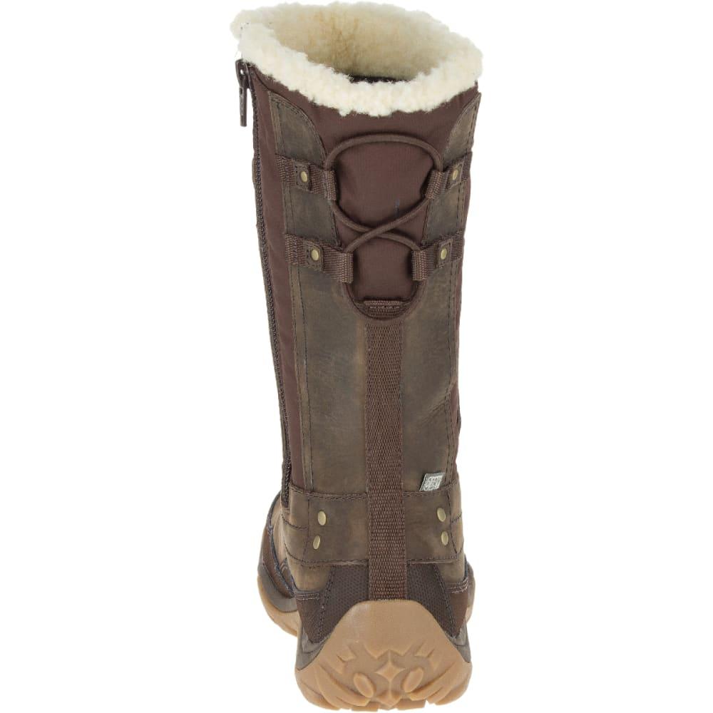 MERRELL Women's Murren Mid Waterproof Boots, Bracken - BRACKEN