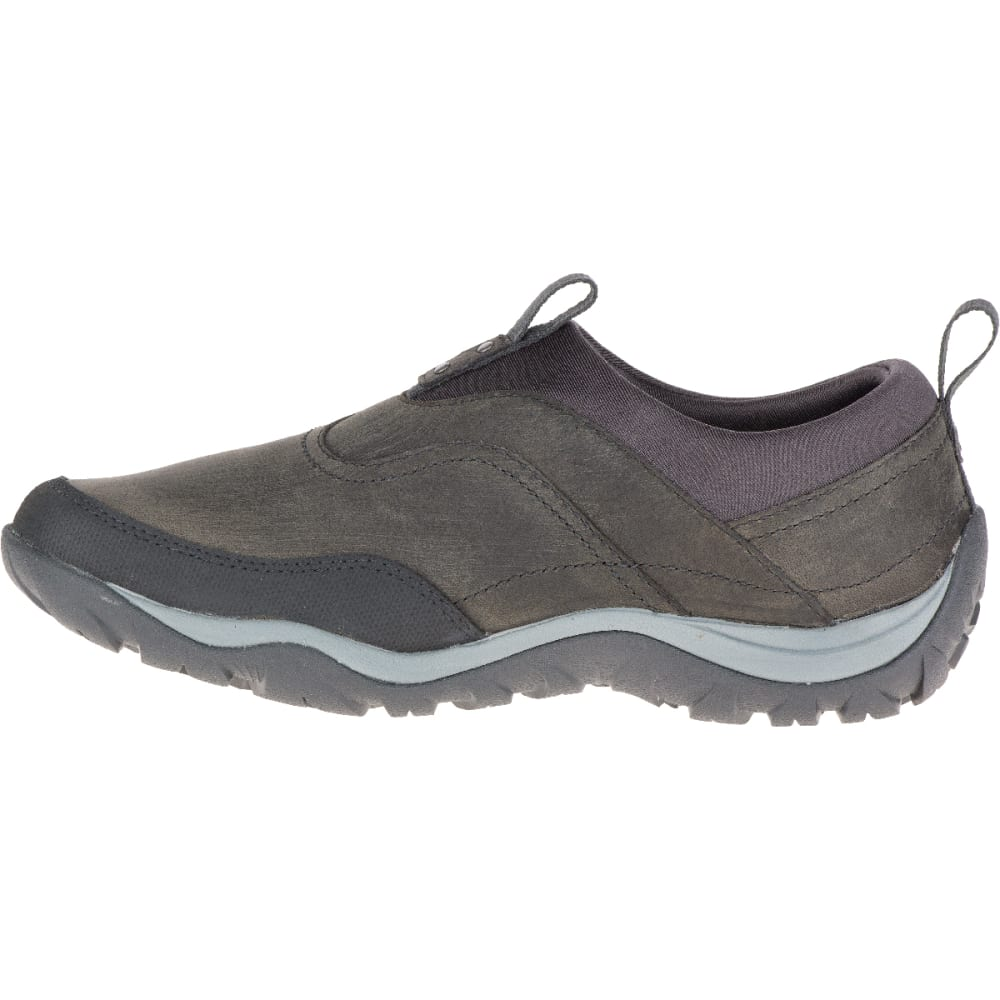 MERRELL Women's Murren Waterproof Moc, Pewter - PEWTER