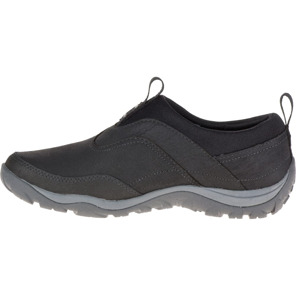 MERRELL Women's Murren Waterproof Moc, Black - BLACK