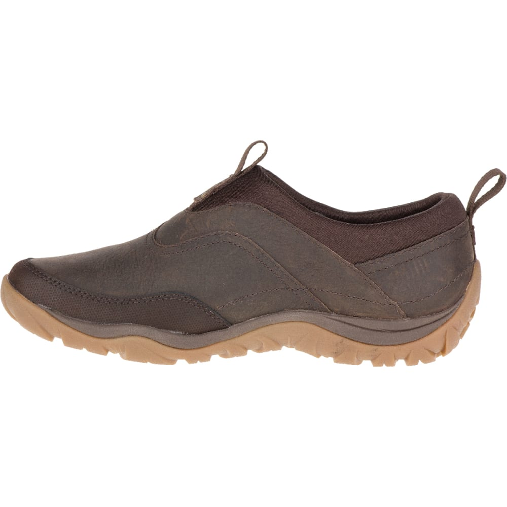 MERRELL Women's Murren Waterproof Moc, Bracken - BRACKEN