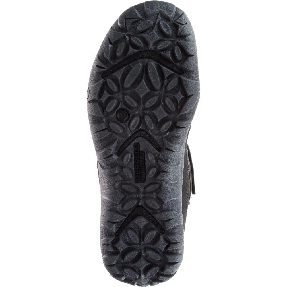 MERRELL Women's Murren Tall Waterproof Winter Boots, Black - BLACK