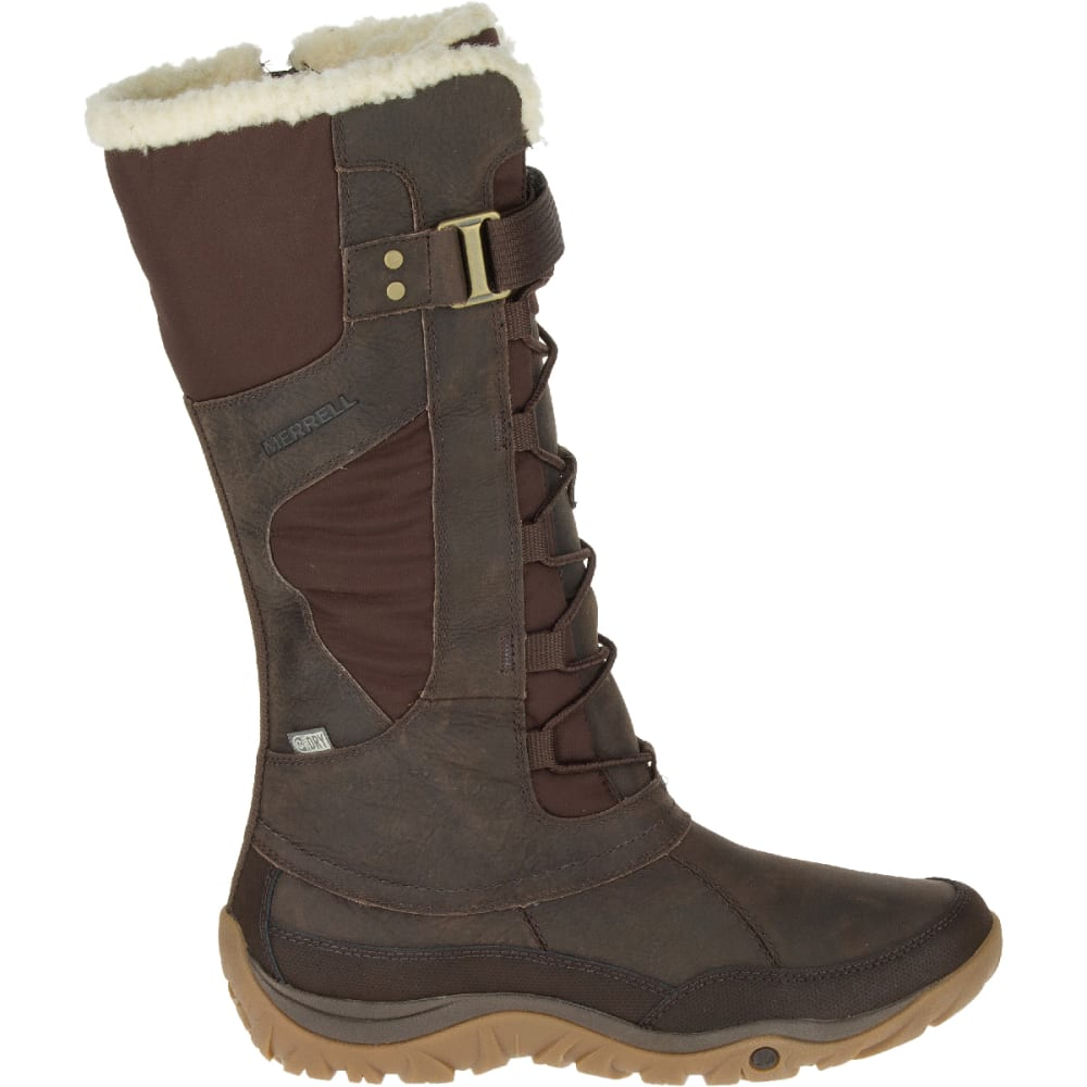 MERRELL Women's Murren Tall Waterproof Winter Boots