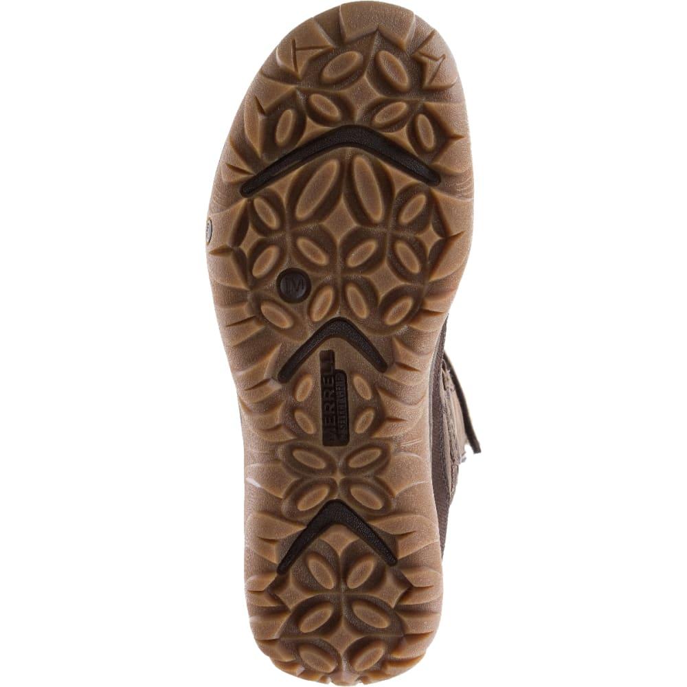 MERRELL Women's Murren Tall Waterproof Winter Boots, Bracken - BRACKEN