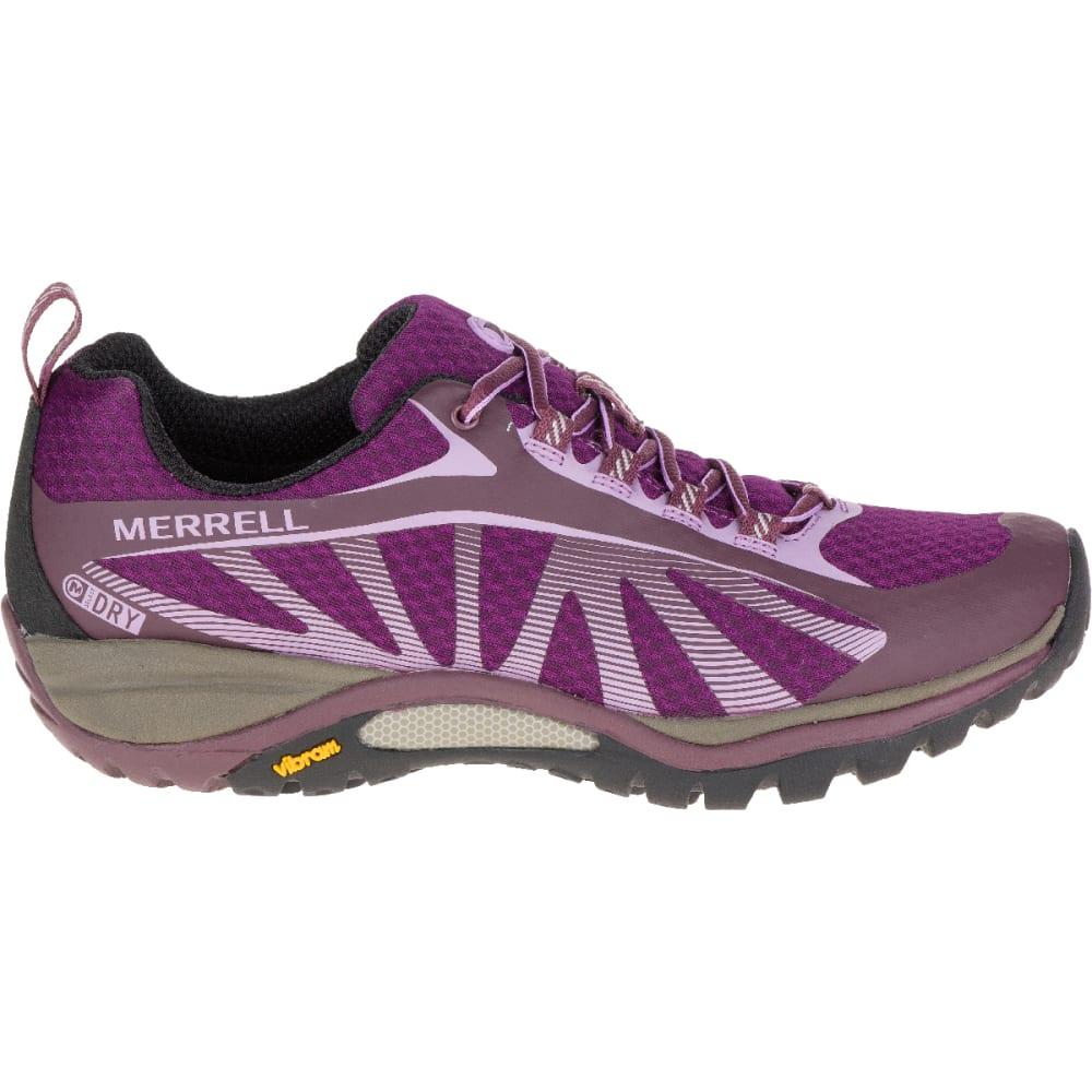 MERRELL Women's Siren Edge Waterproof Sneaker, Huckleberry - HUCKLEBERRY