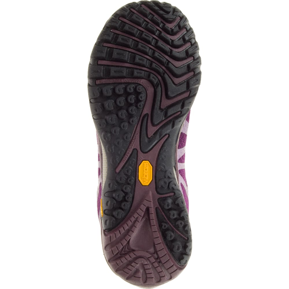 MERRELL Women's Siren Edge Waterproof Sneaker, Huckleberry - HUCKLEBERRY