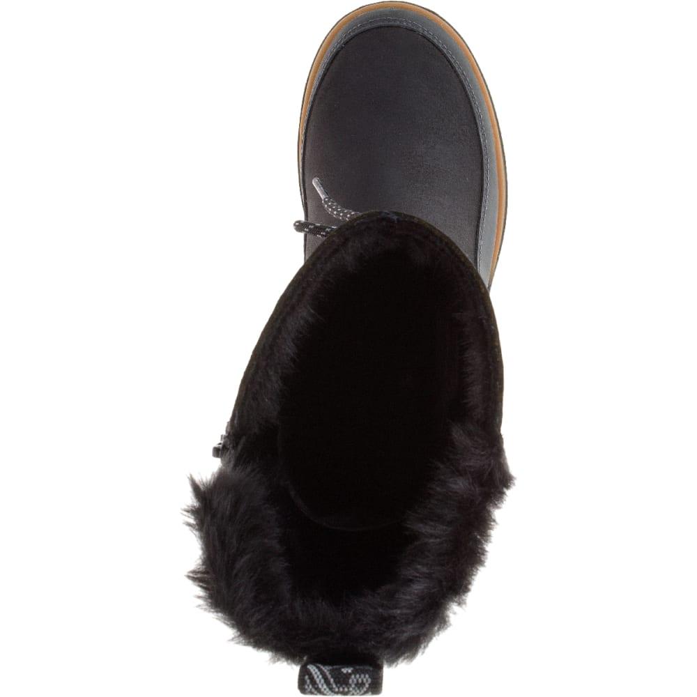 MERRELL Women's Sylva Tall Waterproof Boot, Black - BLACK