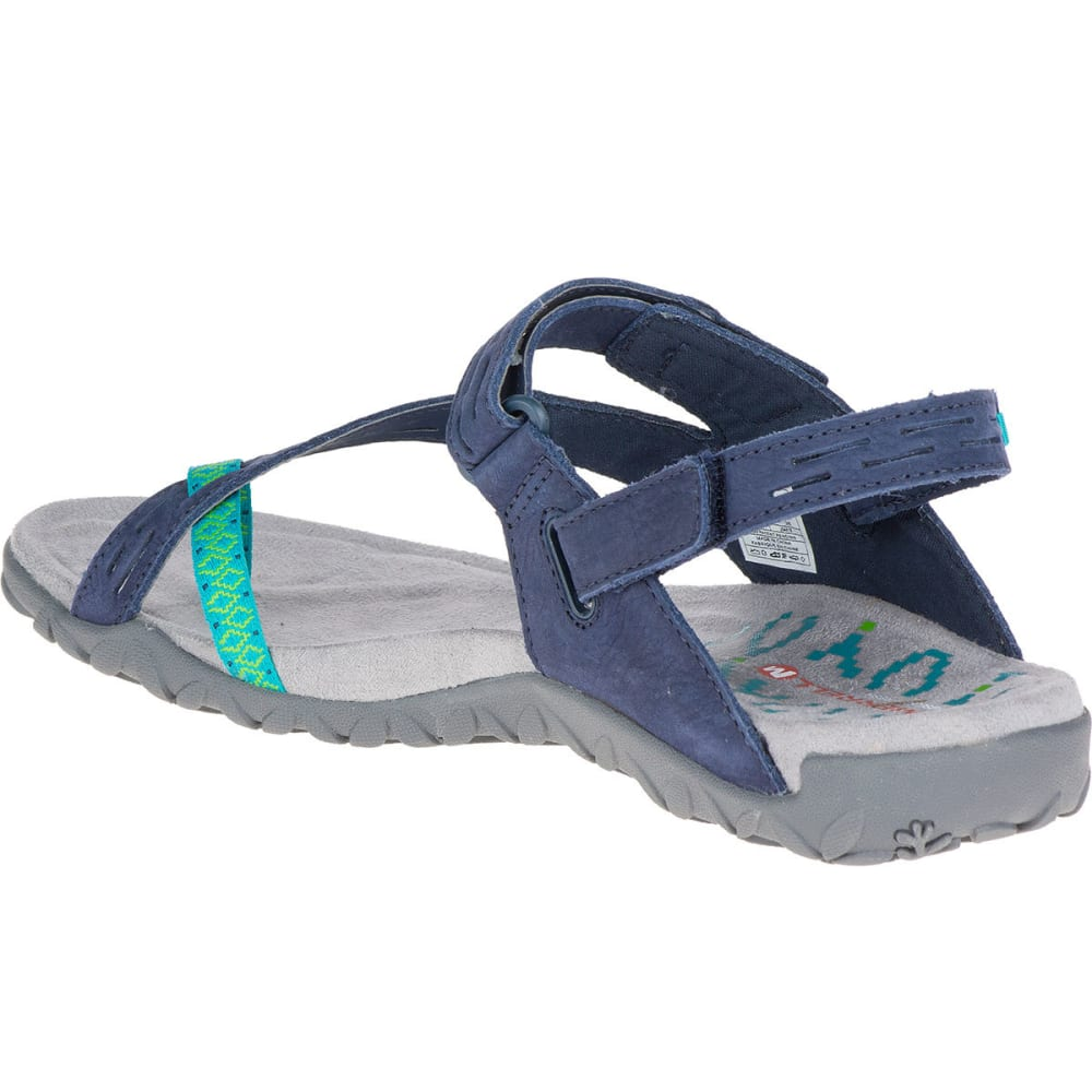 MERRELL Women's Terran Convertible II Sandals, Navy - NAVY