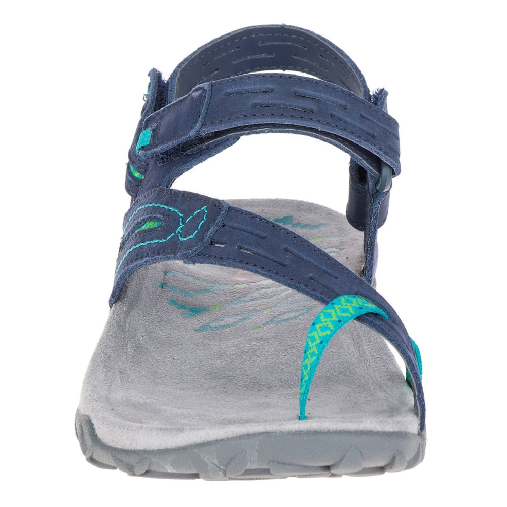 MERRELL Women's Terran Convertible II Sandals, Navy - NAVY