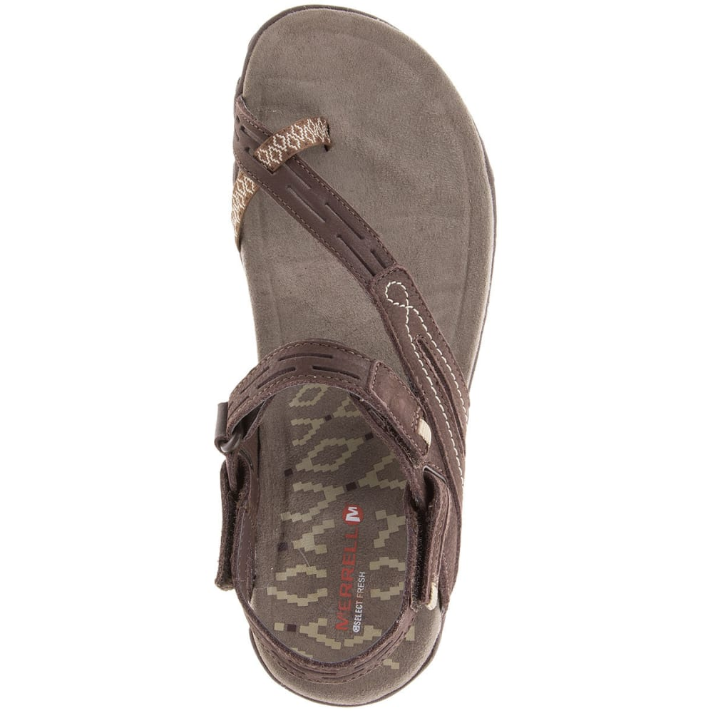 MERRELL Women's Terran Convertible II Sandals, Dark Earth - DARK EARTH