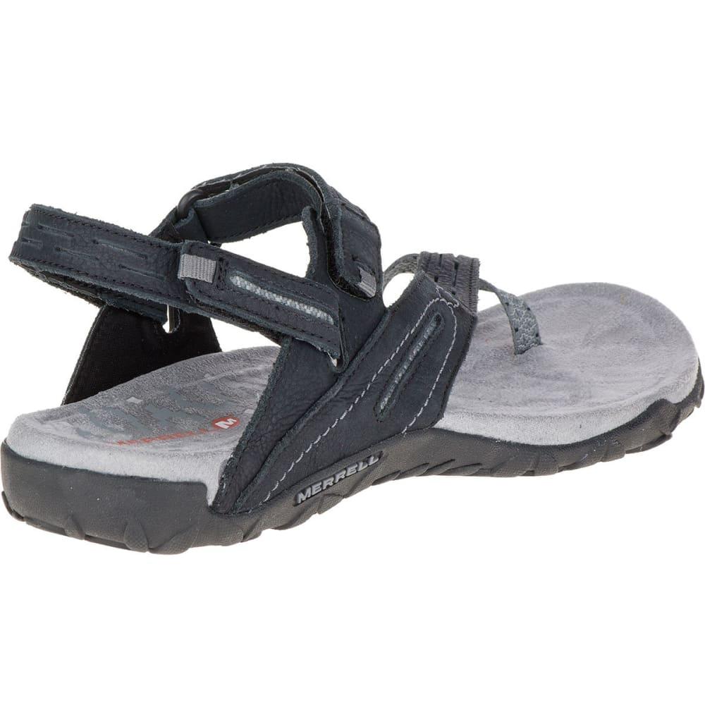 MERRELL Women's Terran Convertible II Sandals, Black - BLACK
