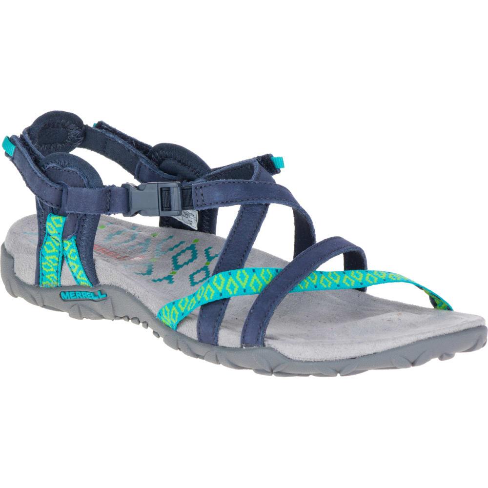 5ab545a9c080 MERRELL Women  39 s Terran Lattice II Sandals