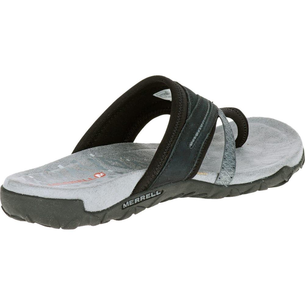 Black merrell sandals - Merrell Women Rsquo S Terran Post Ii Sandals Black Black