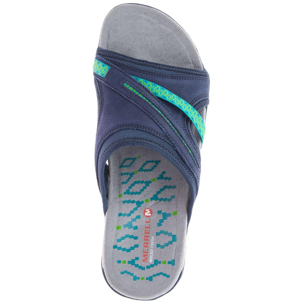 MERRELL Women's Terran Slide II Sandals, Navy - NAVY