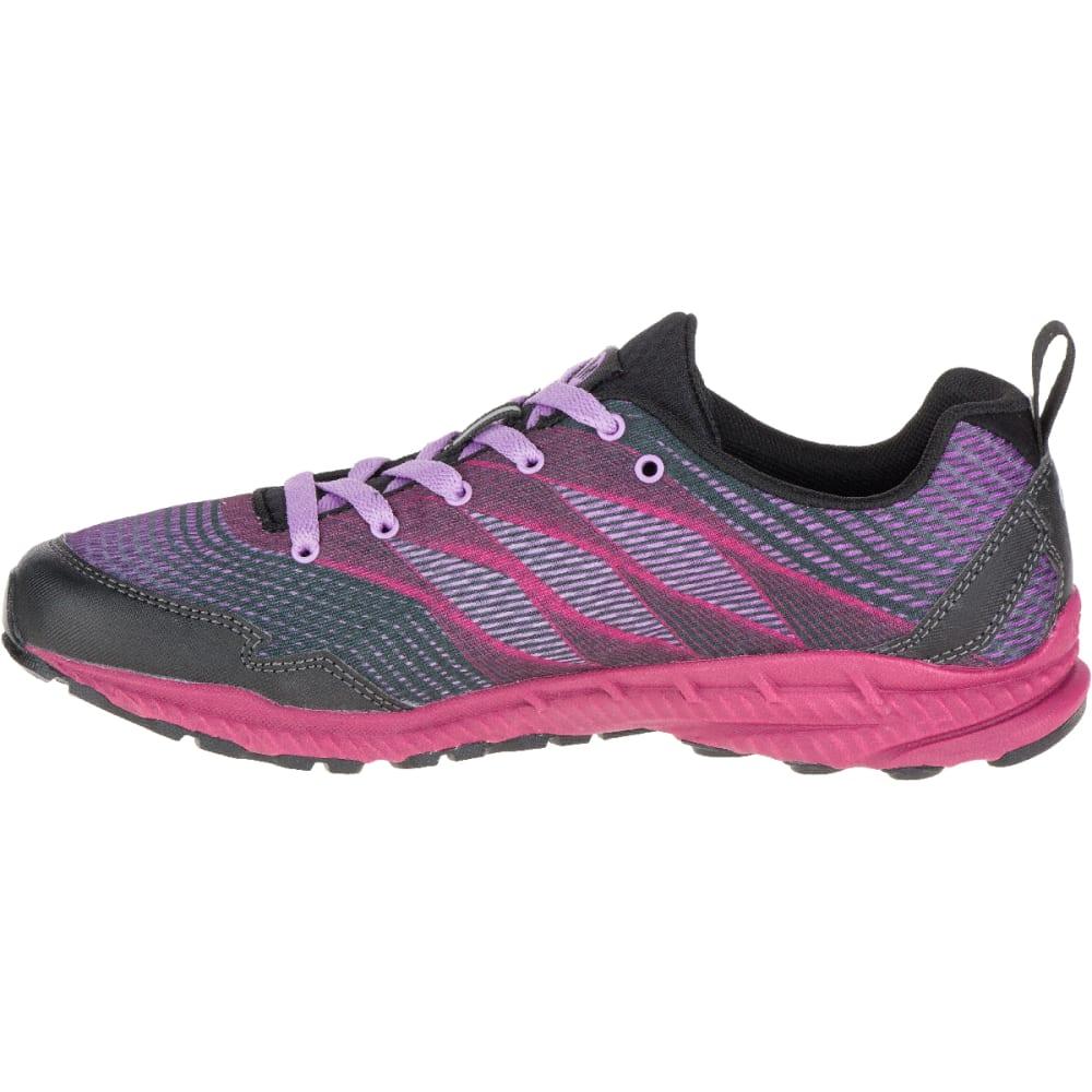 MERRELL Women's Trail Crusher Trail Running Shoes, Pink/Black - PINK/BLACK