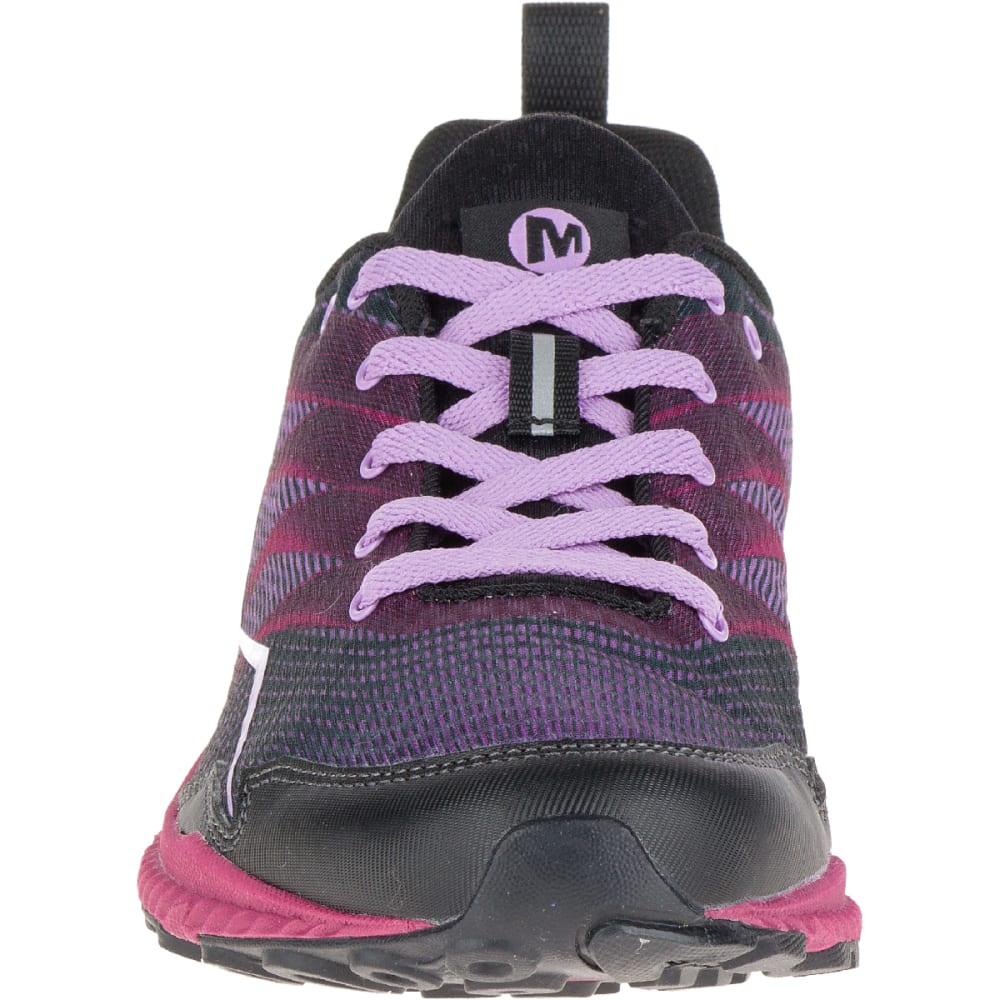 MERRELL Women's Trail Crusher Trail Running Shoes, Pink/Black - PINK/BLACK