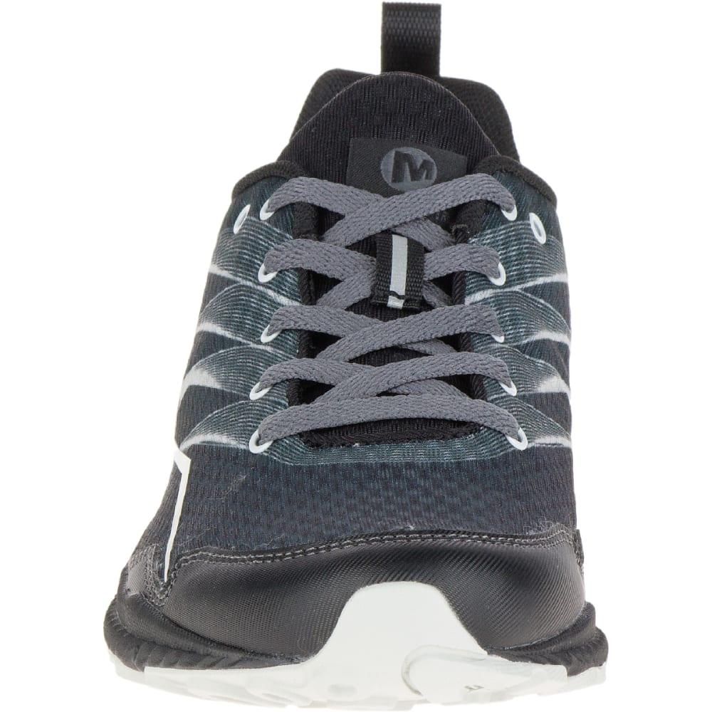 MERRELL Women's Trail Crusher Trail Running Shoes, Granite/Black - GRANITE/BLACK