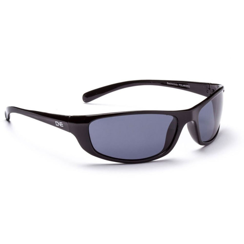 ONE BY OPTIC NERVE Backwoods Sunglasses, Black - BLACK/POLAR SMOKE