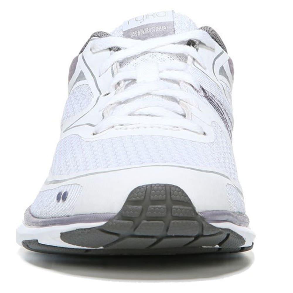RYKA Women's Charisma Walking Shoes - Wht/Prp/Gld