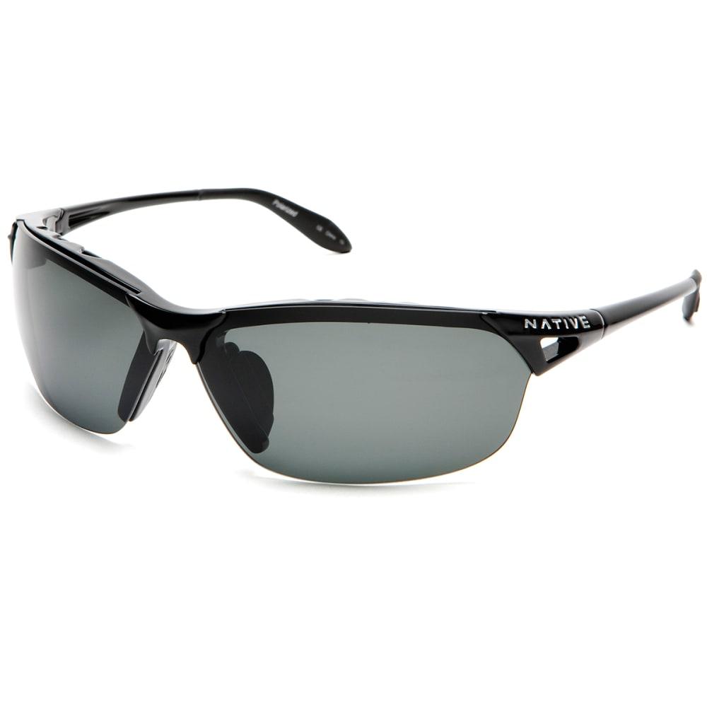 NATIVE EYEWEAR Vigor Sunglasses, Iron Grey - IRON/GRAY
