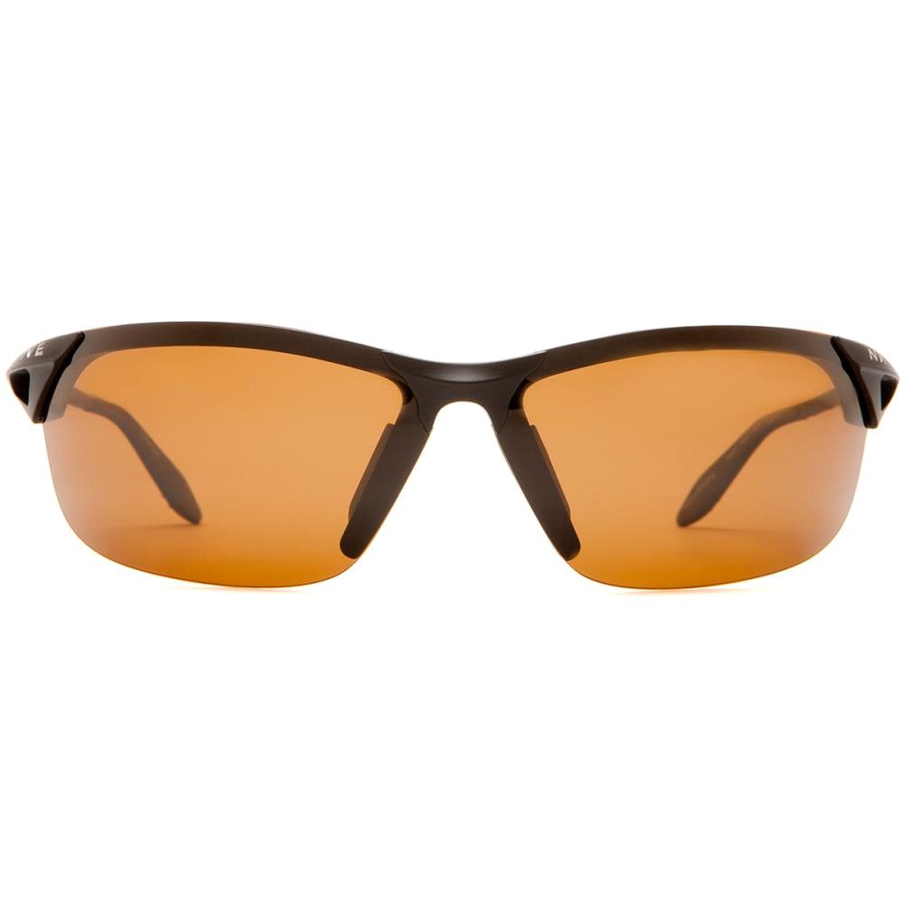 NATIVE EYEWEAR Vigor Sunglasses, Asphalt/Brown - ASPHALT/BROWN