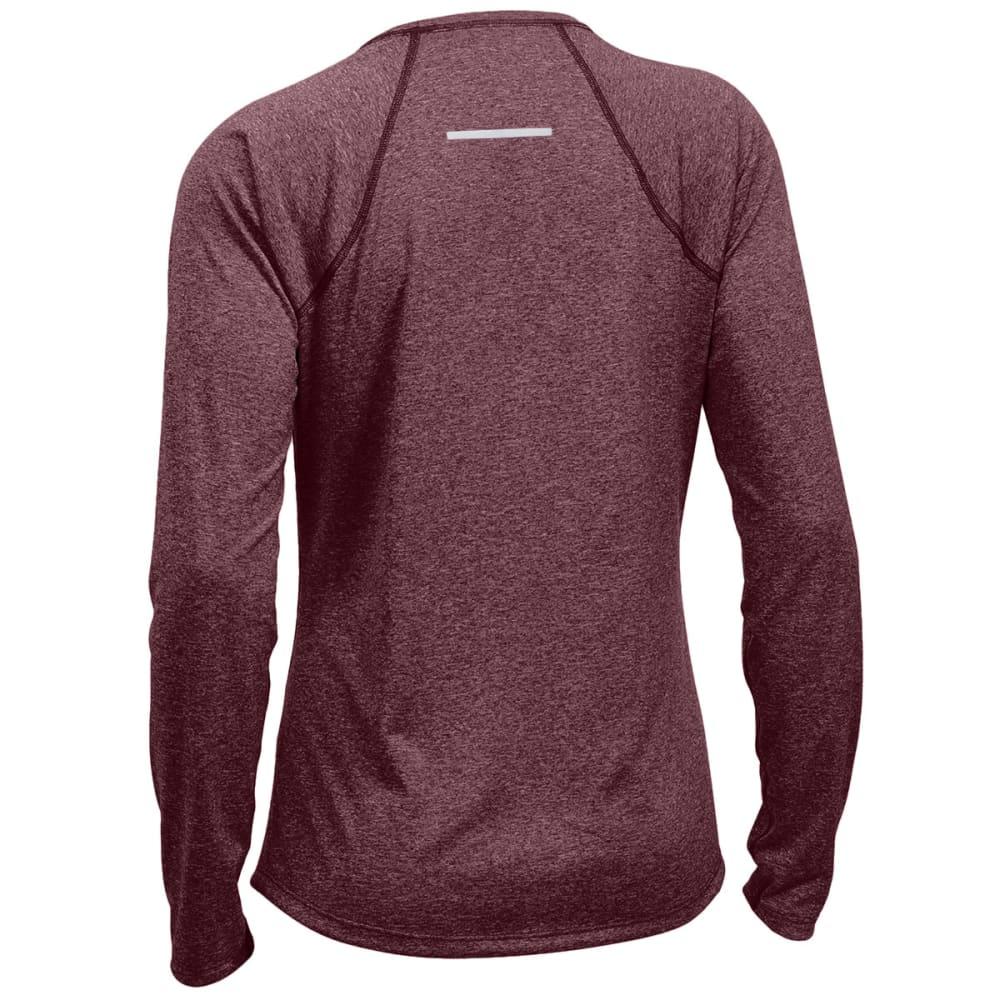 EMS Women's Techwick Essence Long-Sleeve Shirt - WINETASTING HTR