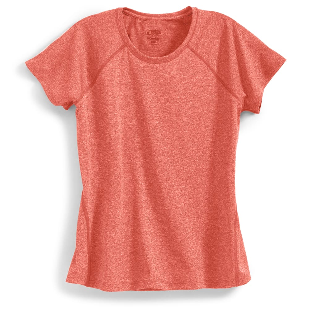 EMS Women's Techwick Essence Short-Sleeve Tee - BAKED APPLE HTR