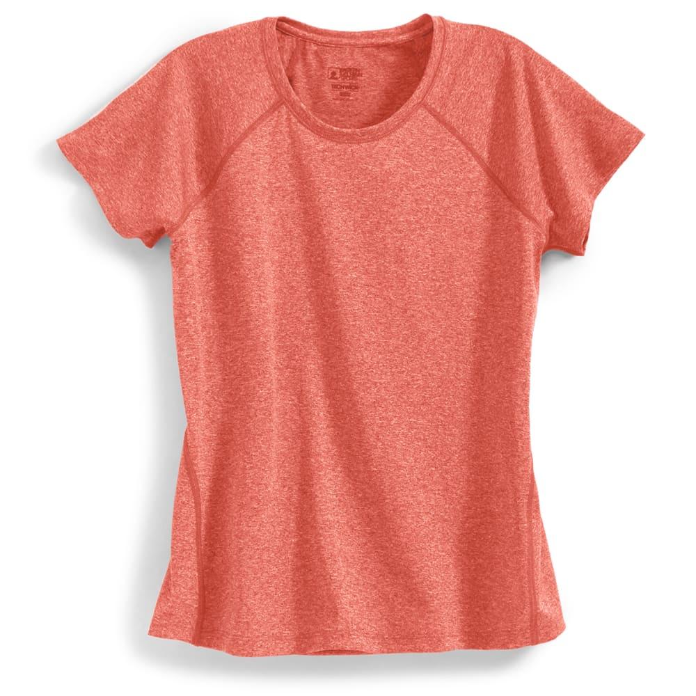 EMS Women's Techwick Essence Short-Sleeve Tee - BAKED APPLE HTR