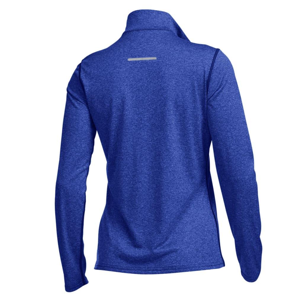 EMS® Women's Techwick® Essence  ¼ Zip Pullover - DAZZLING BLUE HTR