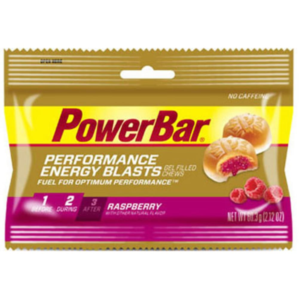 POWERBAR Energy Blast Chew, Raspberry - NO COLOR