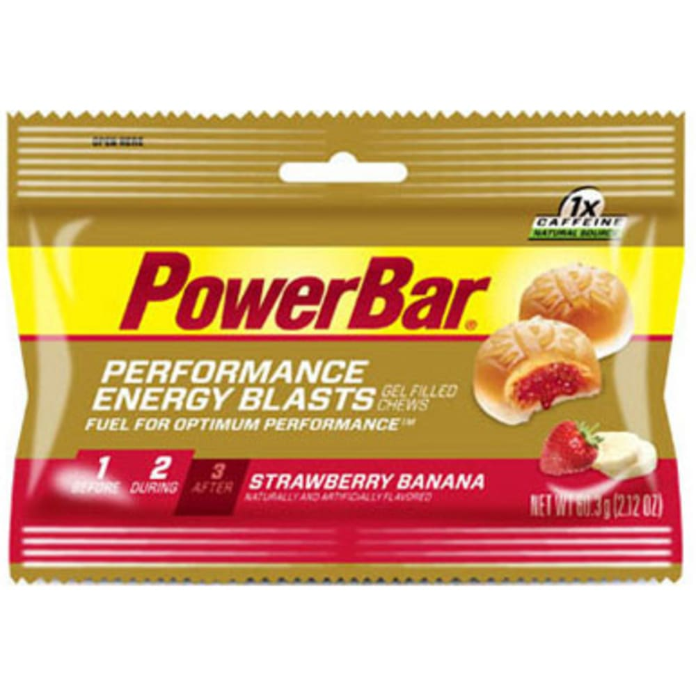 POWERBAR Energy Blast Chew, Strawberry Banana - NO COLOR