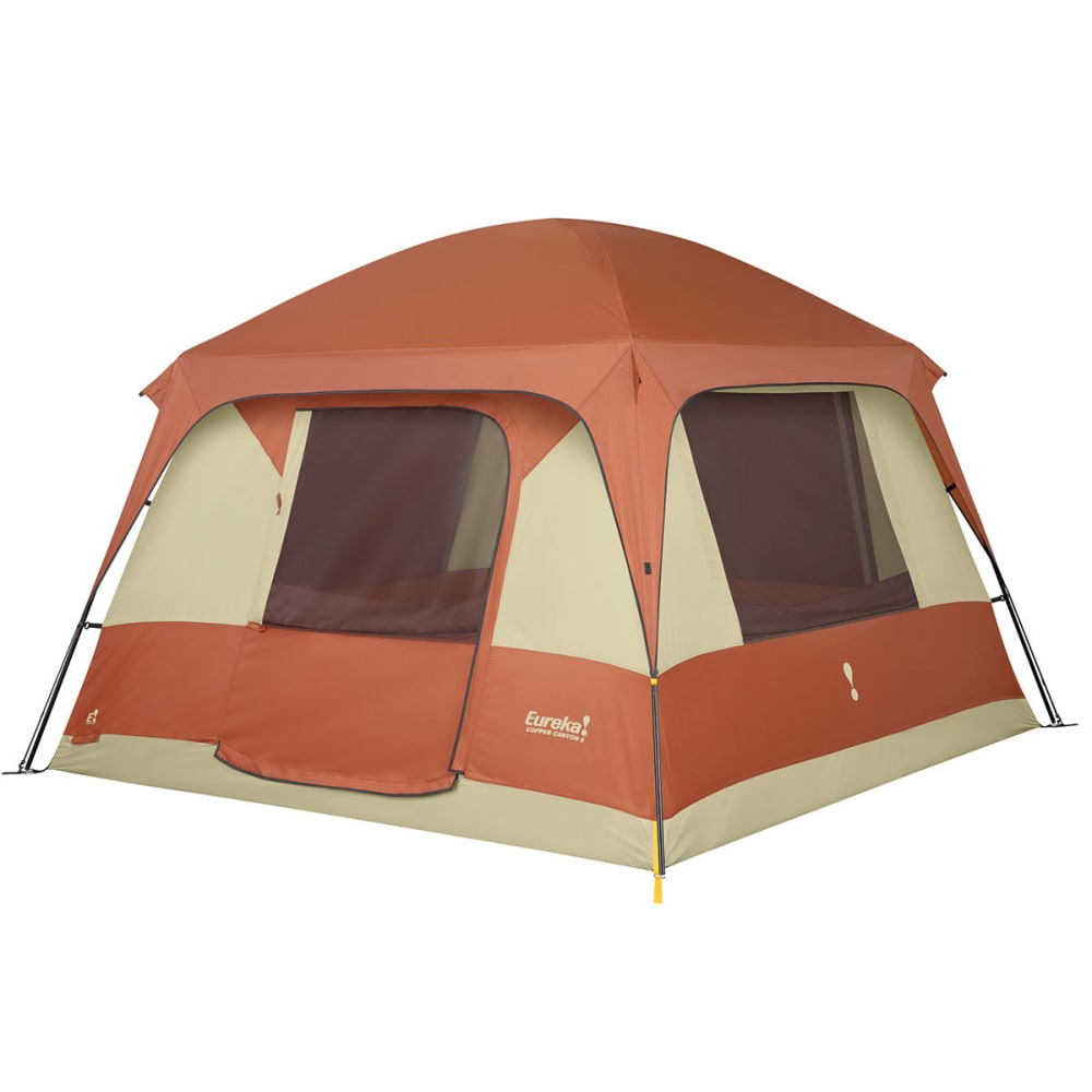 EUREKA Copper Canyon 6 Tent - BURNT BRICK/CEMENT