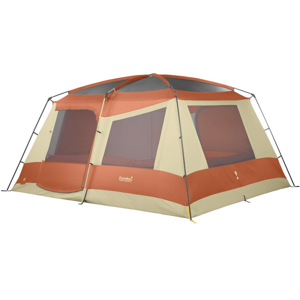 EUREKA Copper Canyon 12 Person Tent - BURNT BRICK/CEMENT