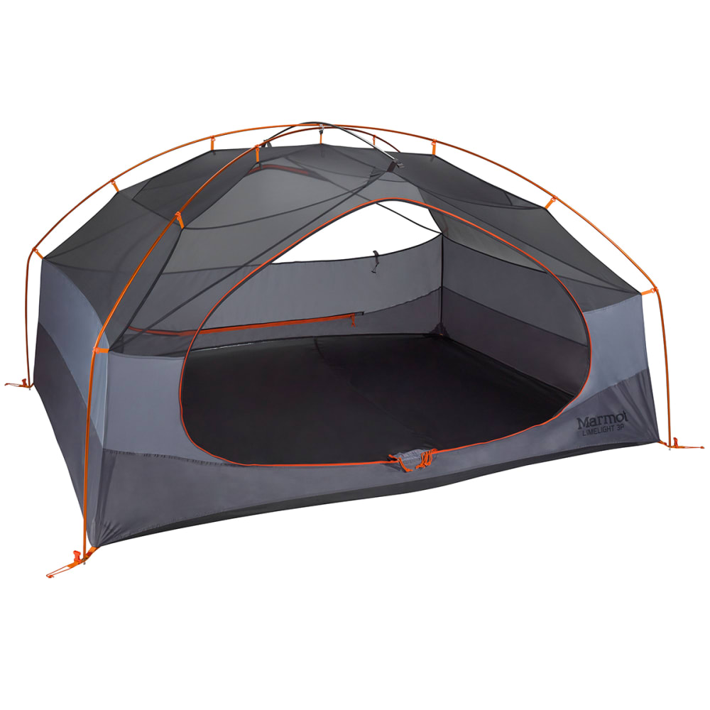 MARMOT Limelight 3P Tent - CINDER/RUSTED ORANGE