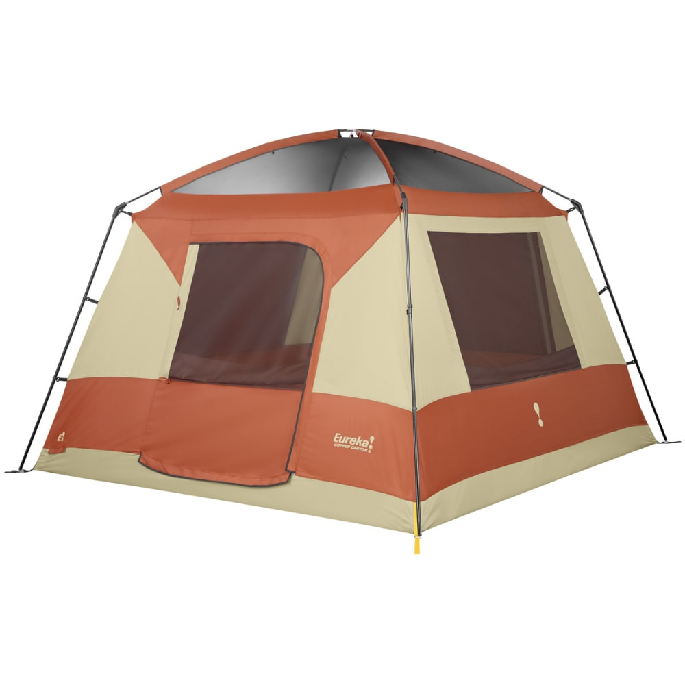 EUREKA Copper Canyon 6 Person Tent - BURNT BRICK/CEMENT