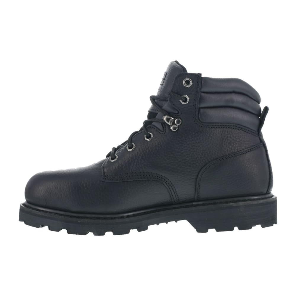 KNAPP Men's Backhoe Steel Toe Work Boots - BLACK